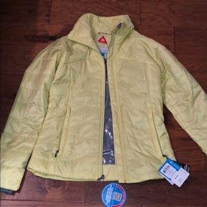 Columbia thin puff jacket